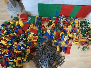 Lego duplo Konvolut, Steine, Figuren u Eisenbahn u Zoo