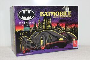 BATMAN RETURNS BATMOBILE JET TURBINE ENGINE MODEL KIT 1/25 1992 AMT Partially As