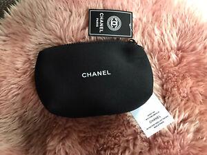 kosmetiktasche Chanel Vip schwarz