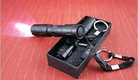 SALE Small 3W LED Handy Waterproof Flashlight Torch Camping Outdoor & Gift box