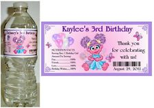 20 ABBY CADABBY BIRTHDAY PARTY FAVORS ~ WATER BOTTLE LABELS