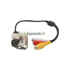Newest Mini Security CCTV Camera CMOS 380TVL Audio Video A/V IR Day Night