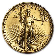 1987 1/10 oz Gold American Eagle Coin - Brilliant Uncirculated - SKU #4696