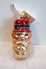 Radko Ornament Angel New Year's Babe Bloomie's Bloomingdale Baby NEW (RL4#22)