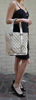 MARC JACOBS Quilted Satin Bucket Bag Tote Gold  NEW
