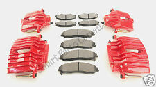 1997-04 Corvette C5 Remanufactured/Red Powder Coated Standard Brake Caliper Kit!