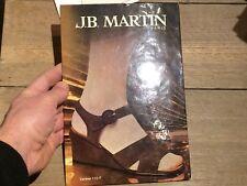 PUBLICITÉ MAGASIN EN CARTON PRESENTOIR CHAUSSURES JB MARTIN PARIS VINTAGE