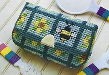 **SUMMERTIME CLUTCH TO STITCH- PATTERN ONLY**PLASTIC CANVAS PATTERN**