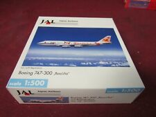 HERPA 1;500 SCALE- JAPAN AIRLINES 747-300- 503969 JAL