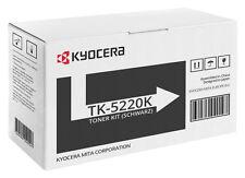 1x ORIGINAL TONER Kyocera Mita ECOSYS TK-5220K M5521cdn M5521cdw P5021 cdn cdw