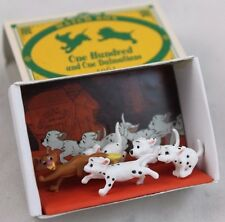 Disney 101 DALMATIANS 1961 Match Box Collection Figurine