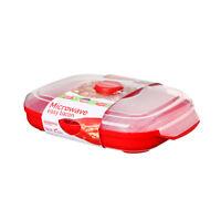 Sistema Microwave Bacon Crisper Healthy Cooking Handy Kitchen Gadget
