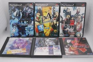 PS1 Persona 1 2 Tsumi & Batsu , PS2 Persona 3 4 P3 Fes Append ver. 6Games Japan