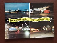 b1v postcard unused royal mail Bournemouth royal mail air services