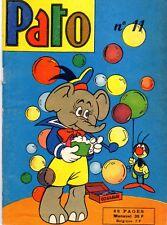 PATO NUMERO 11 ANNEE 1957 RARISSIME TBE