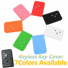 3 Buttons Silicone Remote Key Fob Cover Shell For Renault Clio Megane Scenic