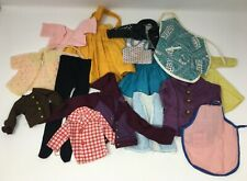 Vintage Lot Doll Clothing Skirts Tops Jackets Tights Aprons Etc
