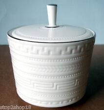 Wedgwood Intaglio Platinum Sugar Bowl with Lid NEW