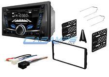 New Power Acoustik Bluetooth Stereo Radio Aux Usb Input Cd Player W Dash Kit(Fits: Ford Windstar)