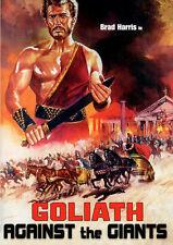 GOLIATH AGAINST THE GIANT (Brad Harris) - DVD - Region Free - Sealed