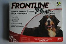 Frontline Plus for Extra Large Dogs 89-132 lbs. - 3 month - Usa Epa Approved