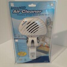 LitterMaid Air Cleaner Fan Cat Kitten Litter Box Freshen Filter Odors LMAC100