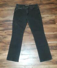 Levis Womens 505  Black Straight Jeans Denim Size 8M 29x32
