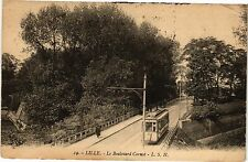 CPA Lille - Le Boulevard Carnot (194129)