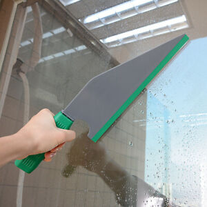 """10"""" Window Tint Squeegee Rubber Blade w/ handle Car Wrap Tools Flat Water Wiper"""