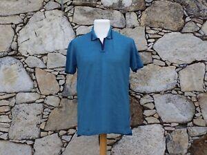 ORLEBAR BROWN.  Short sleeve pique shirt.  100% Linen.  BNWOT.  Size: Large.