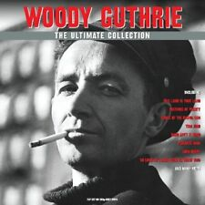 Woody Guthrie The Ultimate Collection 2 LP Record Set on 180g Grey Vinyl