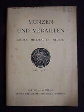 Münzen und medaillen - antike, mittelalter, neuzeit