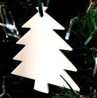 Arbre en forme de Noël Autocollants & vert ruban,paquet 10,citron vert,orange,