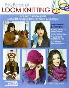 Big Book of Loom Knitting by Kathy Norris Book The Cheap Fast Free Post