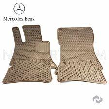 Genuine Mercedes Benz CLS E Class C218 W212 Beige All Season Floor Mats Q6680712