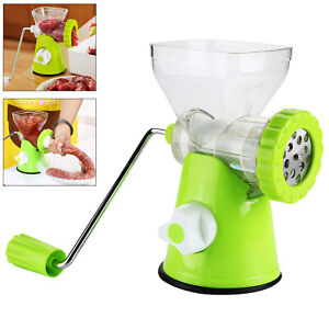 Meat Mincer Plastic Grinder Chopper Mince Beef Maker Hand Operated perfect