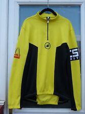 748139a95 Rare Mcdonalds Castelli Road Bike Cycling L-Sleeve 1 2 Zip Top Black
