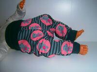 Neu♥Handmade♥Pumphose♥Hippos♥Kuschelhose♥Hose♥♥Gr.50-104Jersey♥Mädchen♥Süß♥