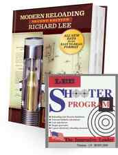 LEE SECOND EDITION RELOADING MANUAL NEW DATA FORMAT + SHOOTER SOFTWARE