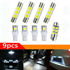9* Car Interior LED Light Bulbs For Map Dome License Plate Lamp Kit Parts