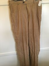 NWT $145 PETER MILLAR TAN CORDUROY JEANS PANTS TROUSERS Sz.34