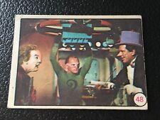 1966 Batman Argentina Bat Risas #39 Joker Riddler Penguin Color Photos Card Rare