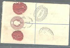 SIERRA LEONE (P3005B) 1932  KGV 2D ON RLE 3D TO GOLD COAST    VERY NICE!!