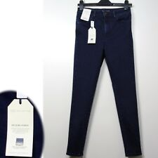 M&S Super Skinny ANKLE GRAZER JEGGINGS with Power Stretch ~ Size 16 Std.~ INDIGO