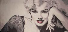 "MARILYN MONROE 132CM X 62CM, 52"" X 24"" FULLY LINED BELGIAN TAPESTRY WALL HANGING"