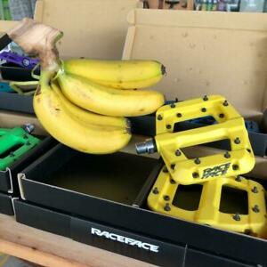"Race Face Chester Composite Platform Pedals:9/16"" Pair Flat Pedal MTB -Yellow"