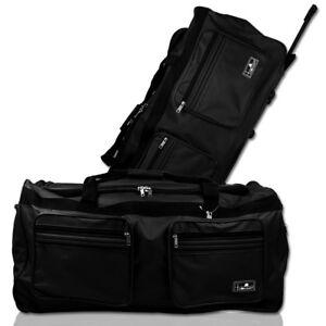 XXL 160L Trolleytasche Reisetasche Sporttasche Trolley Tasche Koffer schwarz NEU