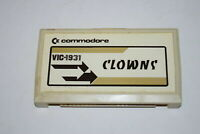 Clowns Commodore Vic 20 Computer Video Game Cart