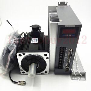 3.8KW 15NM AC 220V Servo Motor CNC Servo Driver Kit NEMA52 CW/CCW for CNC Router