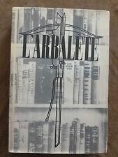 L'Arbalète-n°9-automne 1944-(Barbezat)-G.STEIN.D.BAKER.CALDWELL.CHENEY.HEMINGWAY